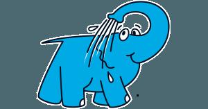 éléphant-bleu
